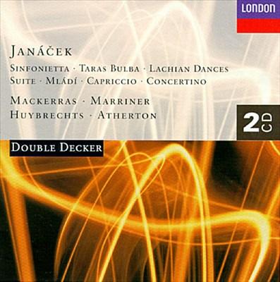 Janacek: Sinfonietta Op. 60; Taras Bulba; Lachian Dances; etc.