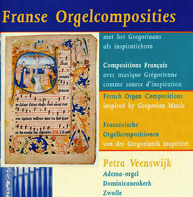 French Organ Compostions inspired by Gregorian Music
