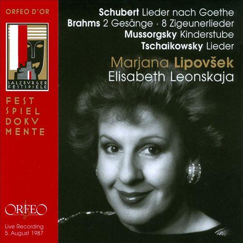 Zigeunerlieder (8), for voice & piano (arranged from Op. 103)