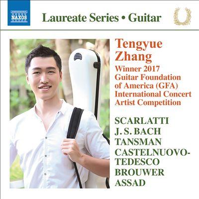 Tengyue Zhang: Winner 2017 Guitar Foundation of America International Concert Artist Competition