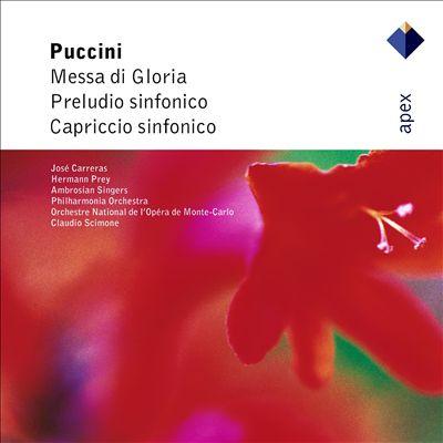 Puccini: Messa di Gloria: Preludio sinfonico; Capriccio sinfonico