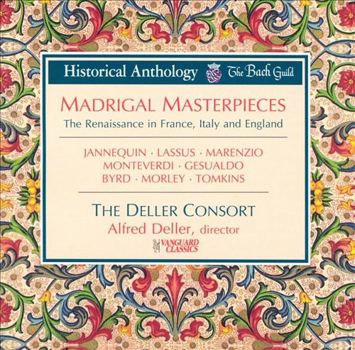 Madrigal Masterpieces