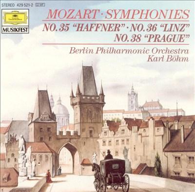 Mozart: Symphonies Nos. 35, 36 & 38