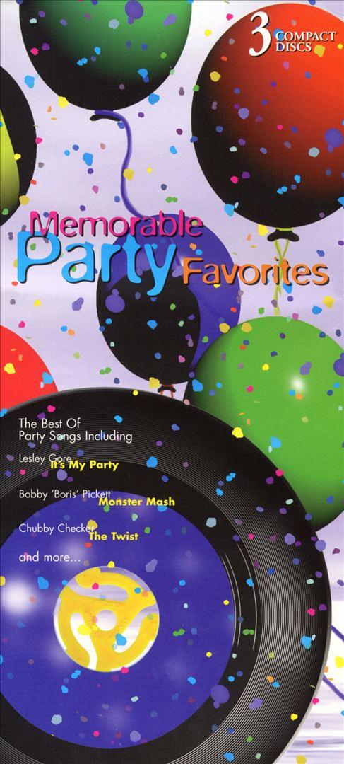 Memorable Party Favorites