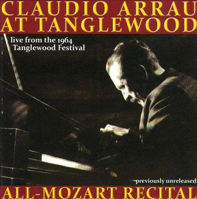 Claudio Arrau at Tanglewood: All-Mozart Recital