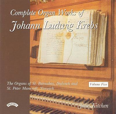 Complete Organ Works of Johann Ludwig Krebs, Vol. 5