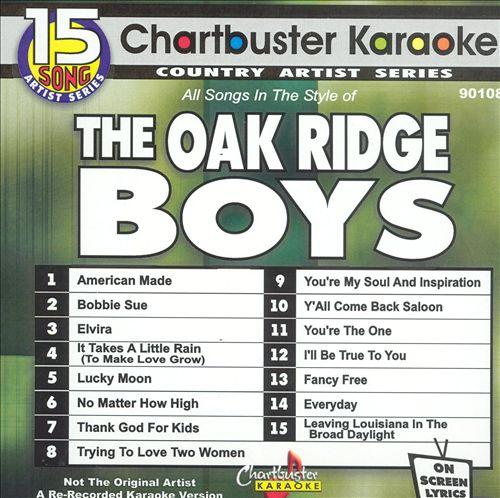 Chartbuster Karaoke: Oak Ridge Boys