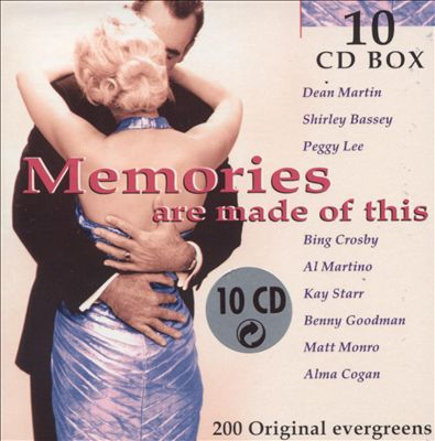 Memories Are Made of This [Disky 10 CD #1]