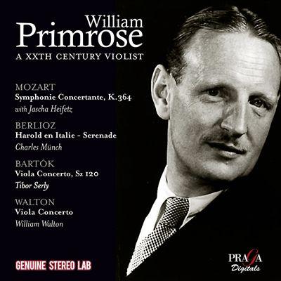 William Primrose: A XXth Century Violist