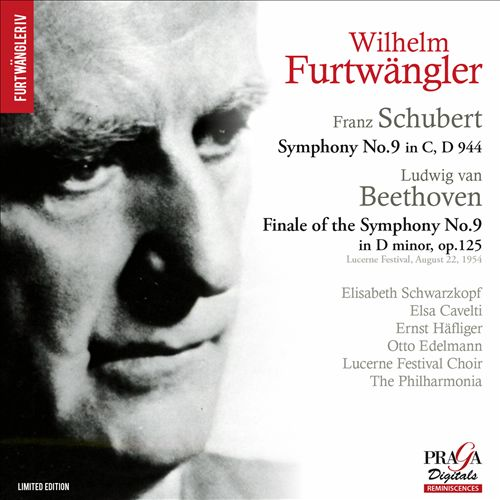 Franz Schubert: Symphony No. 9; Ludwig van Beethoven: Finale of the Symphony No. 9