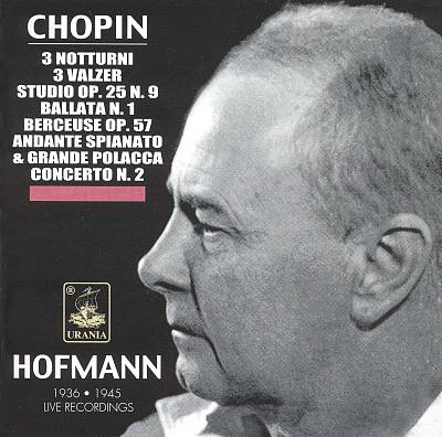 Hofmann Plays Chopin