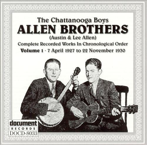 Allen Brothers, Vol. 1: 1927-1930