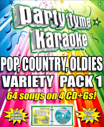Party Tyme Karaoke: Pop, Country, Oldies Variety Pack 1