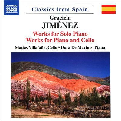 Graciela Jiménez: Works for Solo Piano; Works for Piano and Cello