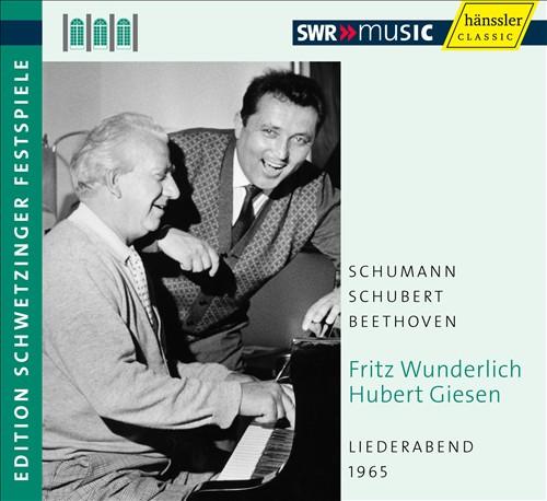 Liederabend, 1965