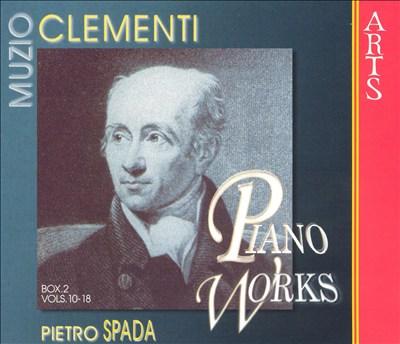 Muzio Clementi: Piano Works, Box 2, Vols. 10-18 (Box Set)