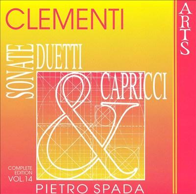 Muzio Clementi: Sonate, Duetti & Capricci, Vol. 14