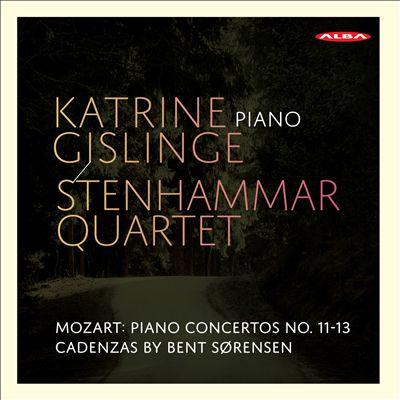Mozart: Piano Concertos No. 11-13, Cadenzas by Bent Sørensen