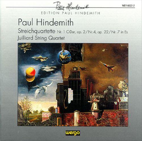 Hindemith: String Quartets Nos. 1, 4, 7