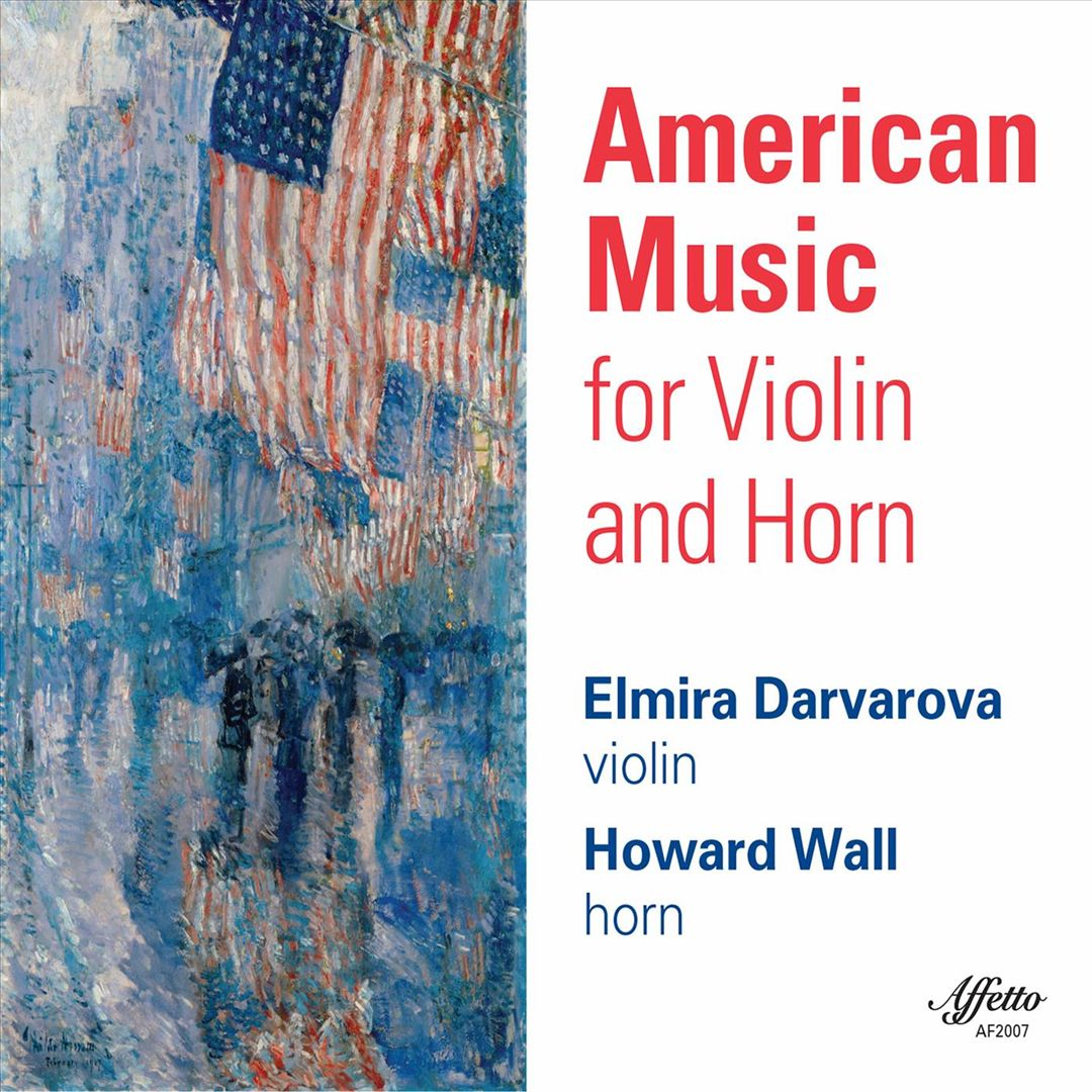 American Music for Violin and Horn