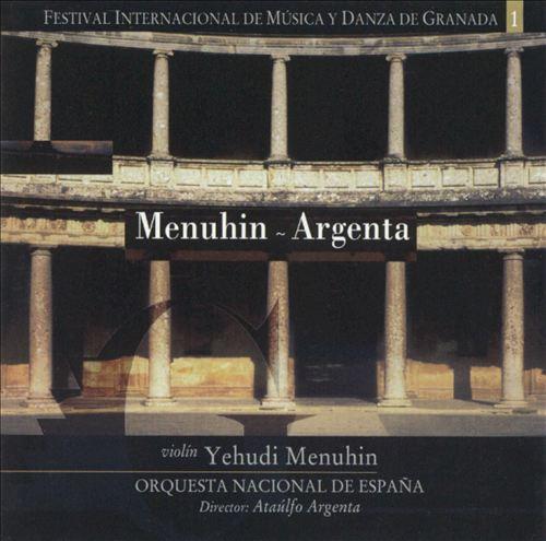 Menuhin & Argenta