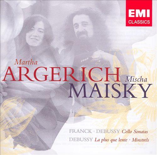 Franck, Debussy: Cellos Sonatas; Debussy: La plus que lente; Minstrels