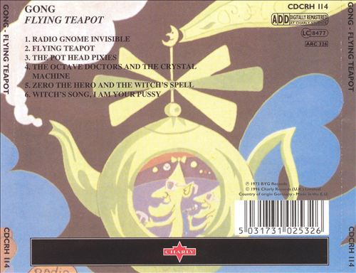 Flying Teapot (Radio Gnome Invisible, Vol. 1)