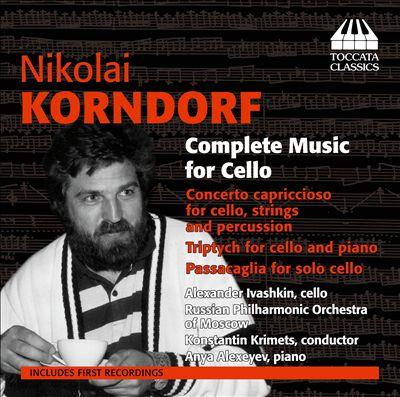 Nikolai Korndorf: Complete Music for Cello
