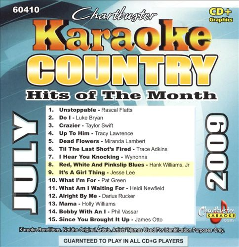Karaoke: Country Hits of the Month - July 2009