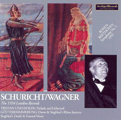 Schuricht Conducts Wagner: The 1954 London Records