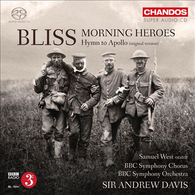 Bliss: Morning Heroes; Hymn for Apollo