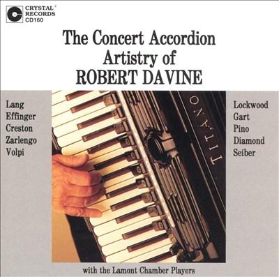 Concert Accordion Artistry of Robert Davine
