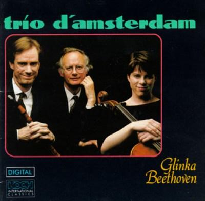 Glinka:Trio Pathétique; Beethoven:Trio for Piano, Clarinet & Cello