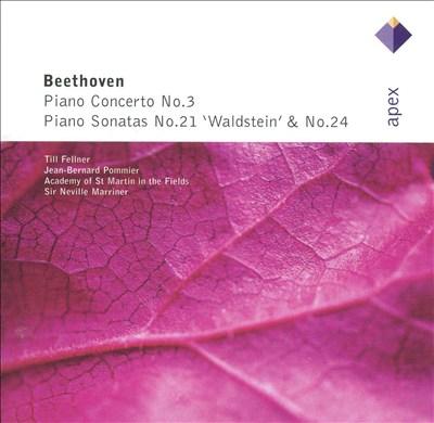 """Beethoven: Piano Concerto No. 3; Piano Sonatas Nos. 21 """"Waldstein"""" & 24"""
