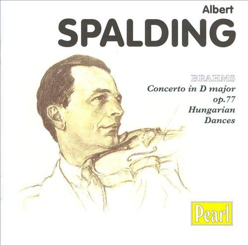 Brahms: Concerto in D major; Hungarian Dances