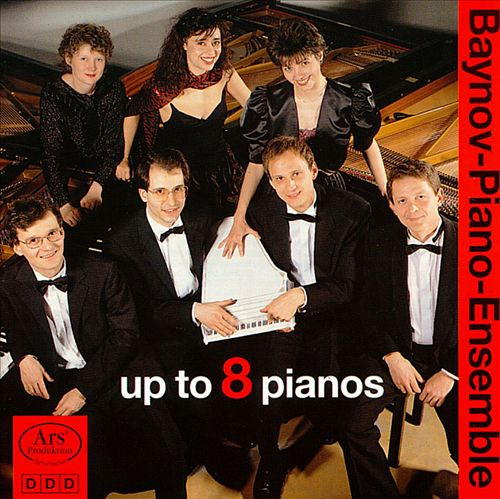 Up to 8 Pianos