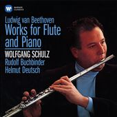 Ludwig van Beethoven: Works for Flute and Piano