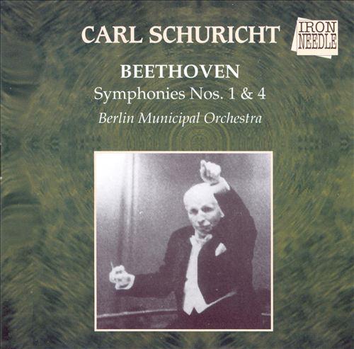 Beethoven: Symphonies Nos. 1 & 4