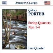 Quincy Porter: String Quartets Nos. 1-4