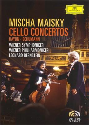 Mischa Maisky Plays Cello Concertos [DVD Video]