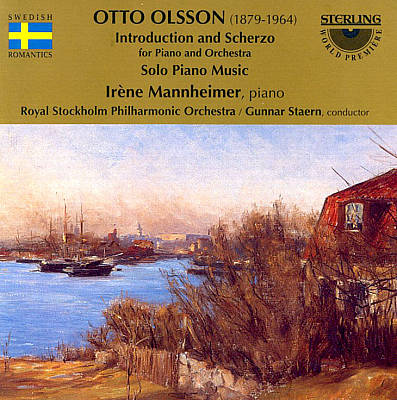 Otto Olsson: Introduction and Scherzo; Solo Piano Music
