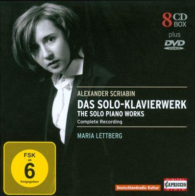 Alexander Scriabin: Das Solo-Klavierwerke [CDs+DVD]