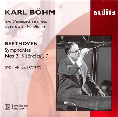 Beethoven: Symphonies Nos. 2, 3 (Eroica), 7