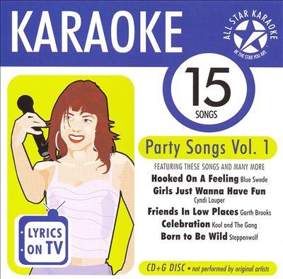 Karaoke: Party Songs, Vol. 1