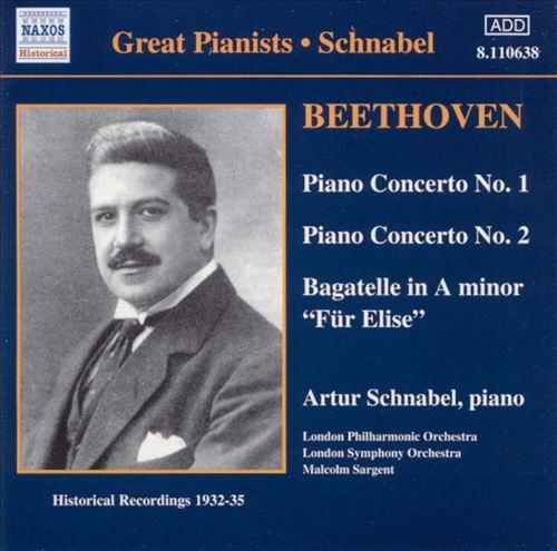 Beethoven: Piano Concerto Nos. 1 & 2; Bagatelle in A minor