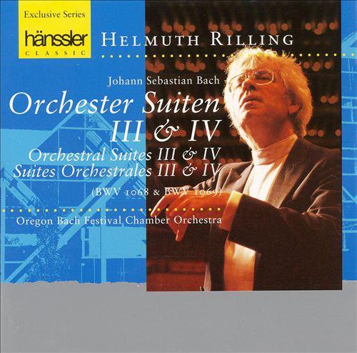 Bach: Orchestral Suites Nos. 3 & 4