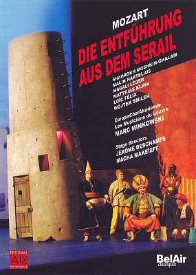 Mozart: Die Entführung aus dem Serail [DVD Video]