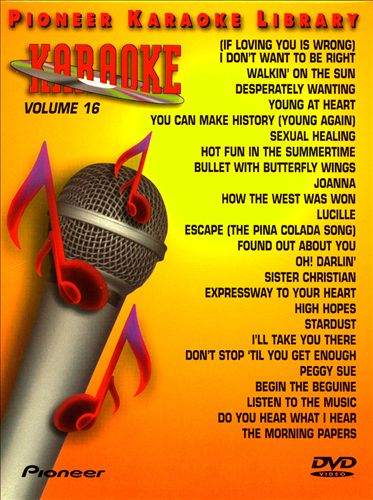 25 Song Karaoke Library, Vol. 16