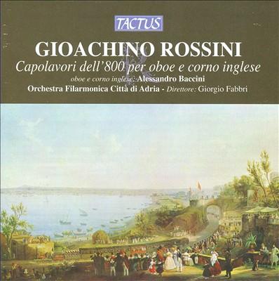 Rossini: Capolavori dell'800 per oboe e corno inglese