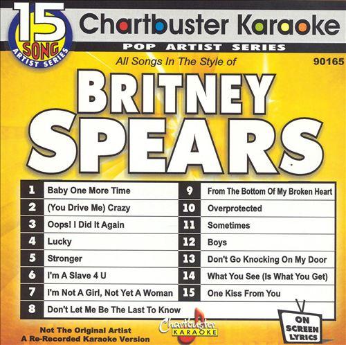 Chartbuster Karaoke: Britney Spears